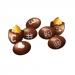Paraguas Chocolate con Lacasitos - 5 uds.