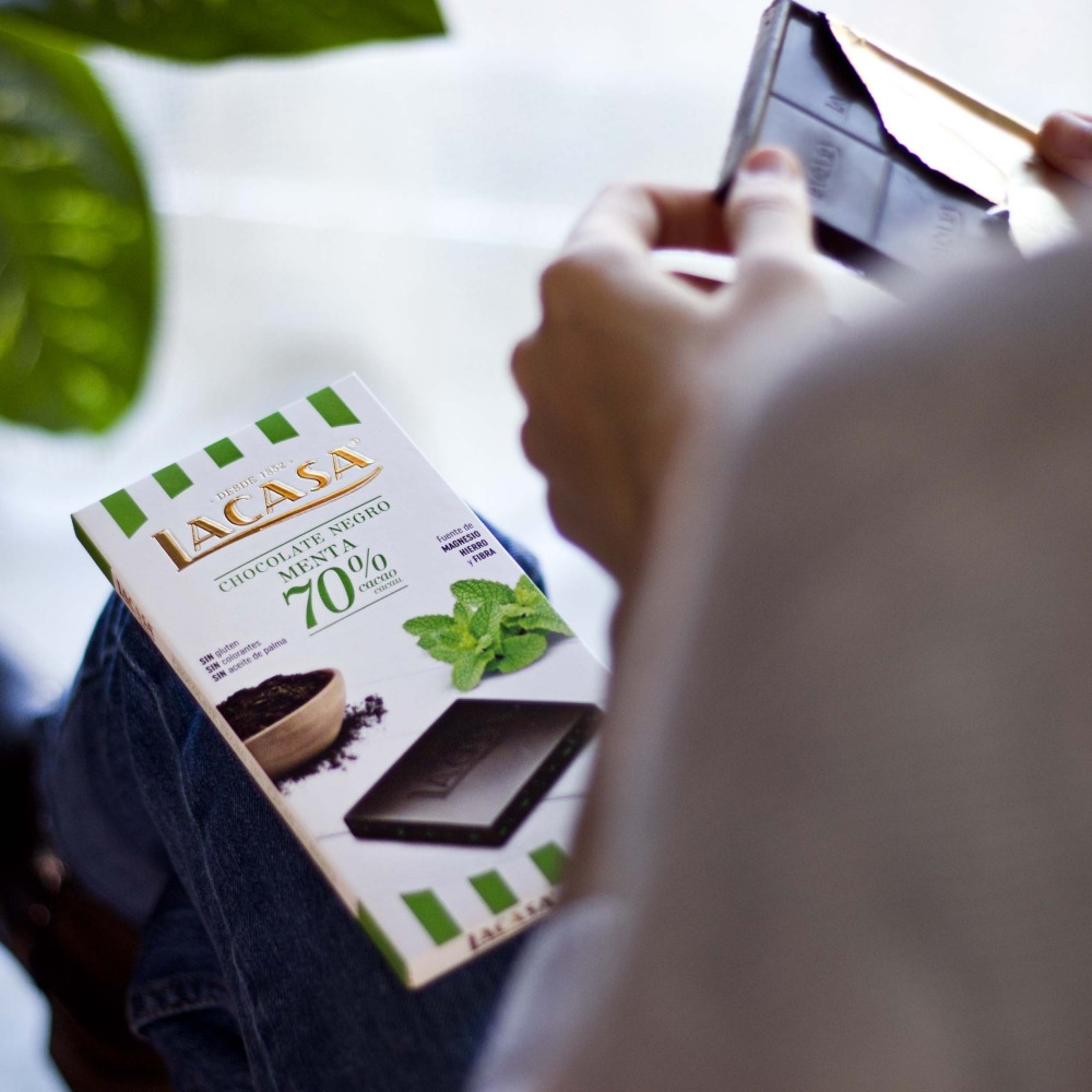 Barrita Kranch Chocolate leche y avellanas - 35 g.
