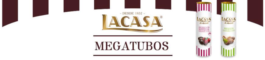 Megatubos Lacasa Mi Momento grageas de chocolate