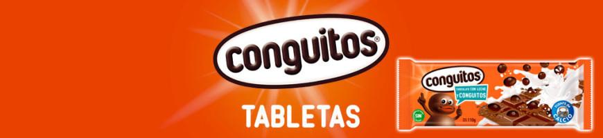 Tabletas de chocolate con Conguitos