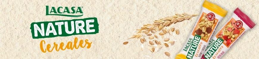 Barritas de cereales Lacasa Nature