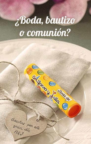 ¿Boda, bautizo o comunión?