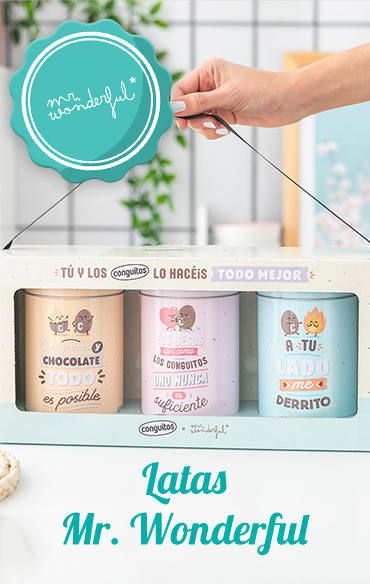 Latas Mr. Wonderful
