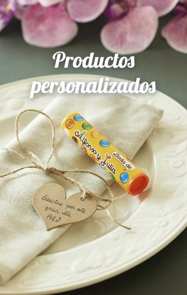 Productos personalizados