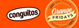 Descuentos Orange Friday en Conguitos