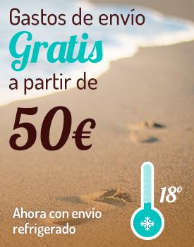 VERANO Envío gratis a partir de 50€