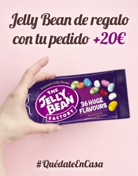 Jelly Bean de regalo con tu pedido +20€